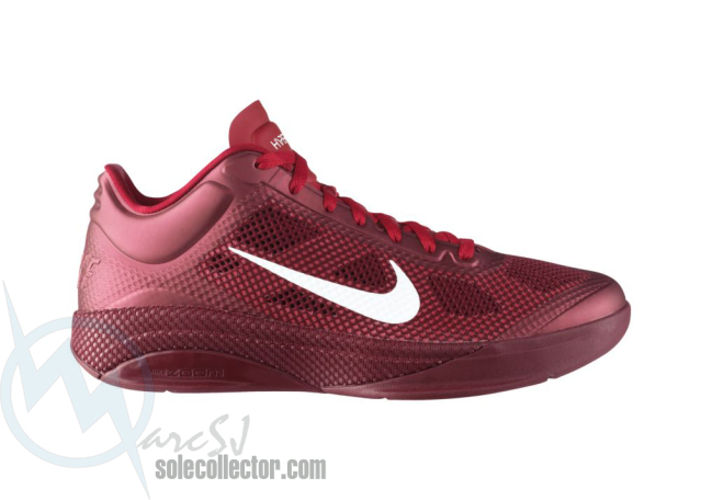 d8704fff4e60 Nike Zoom Hyperfuse Low Team Red White Sport Red 429614-610