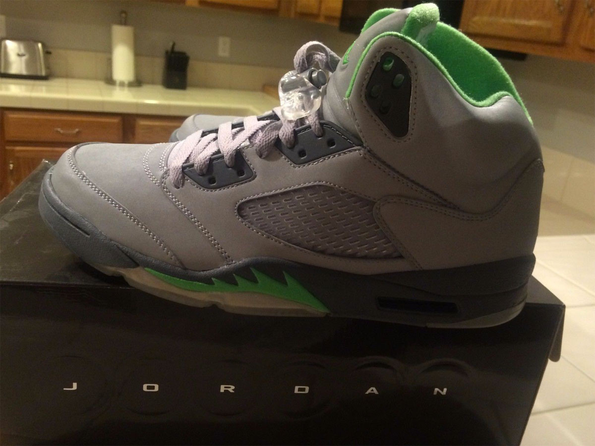 Air Jordan 5 Green Bean (2006)