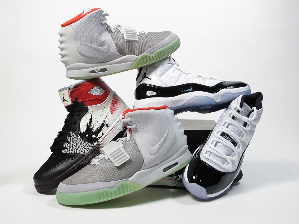 93d59ddd410e0b Moe s Sneaker Spot Atlas Mall Grand Opening Events - Nike Air Yeezy II 2  Platinum