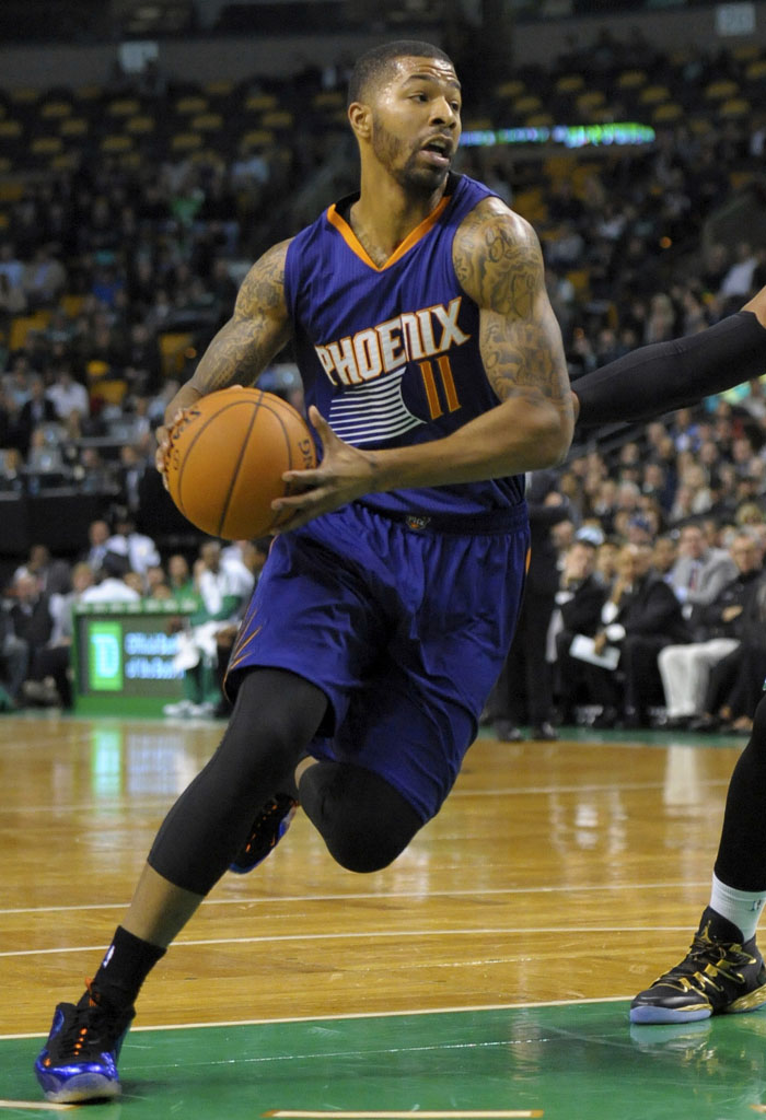 b1a107815d7 SoleWatch  Markieff Morris Has Big Night  Suns  Nike Air Foamposite ...