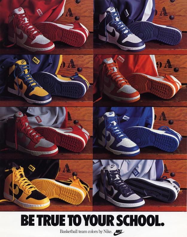 2e6c4459d3c A Brief History of The  Be True To Your School  Nike Dunk Series ...