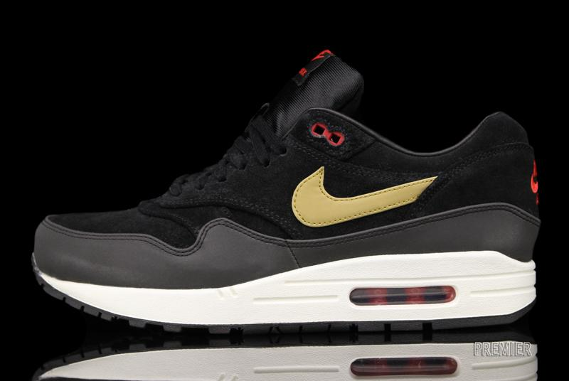 This Air Max 1 Premium is trickling into Nike Sportswear retailers now, including Premier.