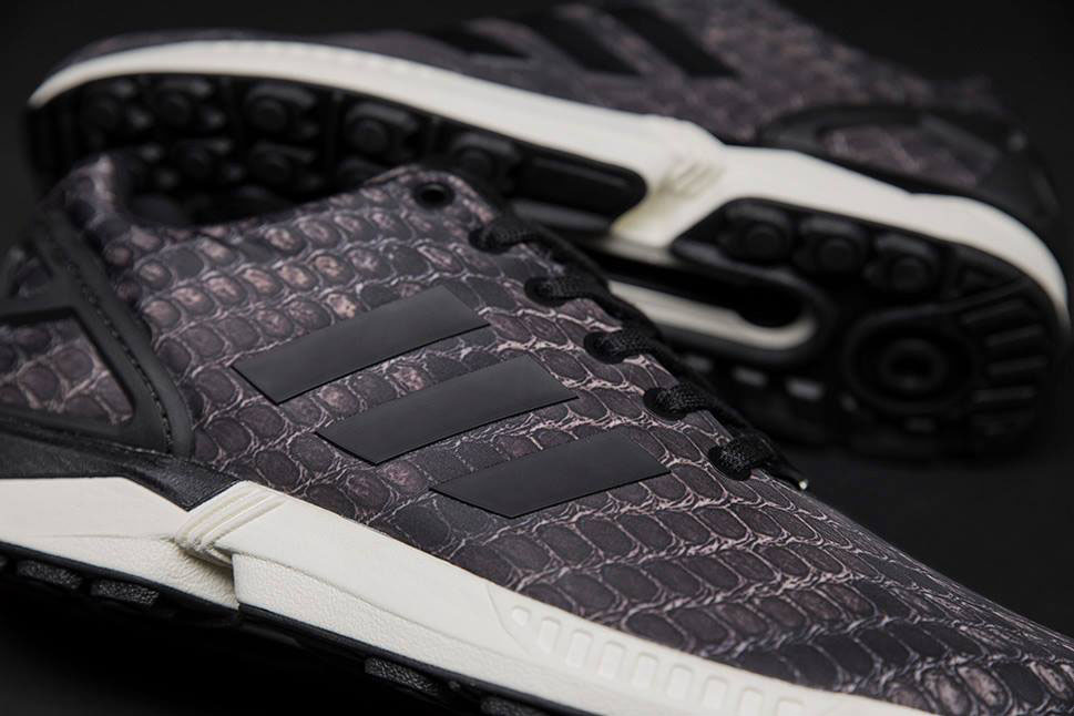 adidas Originals ZX Flux Pattern Pack Exclusive for Sneakersnstuff - Snakeskin (5)