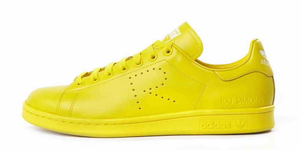 more photos c2ffd e0d15 adidas Raf Simons Stan Smith  Yellow
