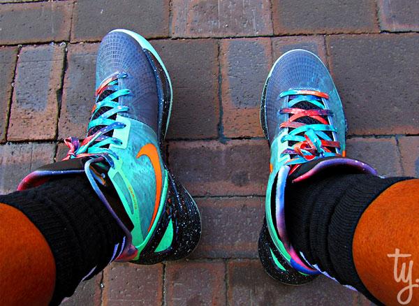 Nike Zoom Hyperdunk 2011 Supreme Blake Griffin 'Galaxy ...  |Blake Griffin Shoes 2012 Galaxy