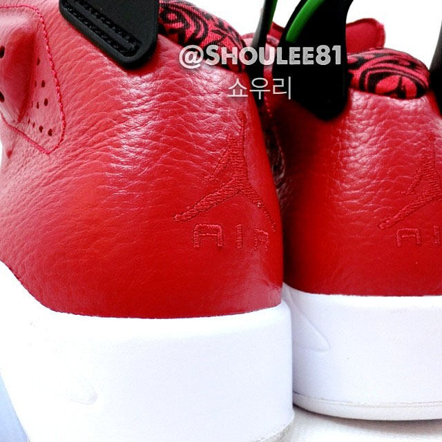 Air Jordan VI 6 Red Leather 694091-625 (3)
