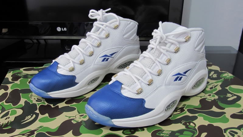 Reebok Question Gilbert Arenas Home PE