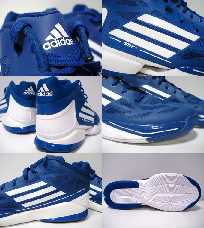 adidas adizero Crazy Light 2 Low Royal White G66078 (4)