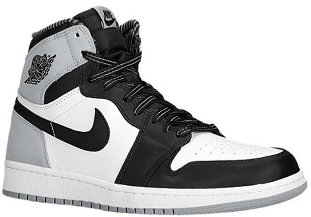 Air Jordan 1 Retro High OG White/Black-Wolf Grey