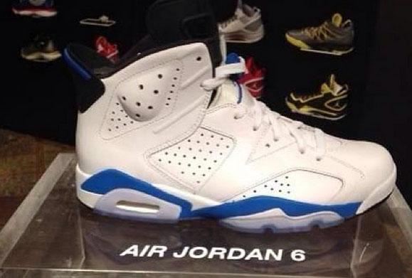 614ef733f8acc4 Air Jordan 6 VI Sport Blue Release Date 384664-107