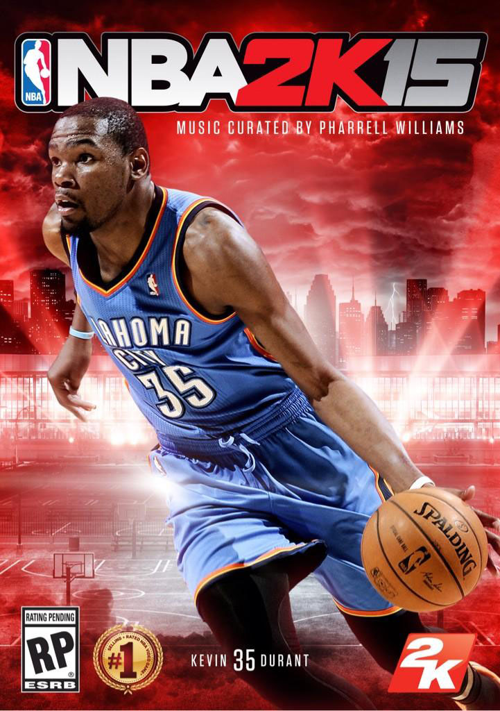 Kevin Durant Covers NBA 2K15