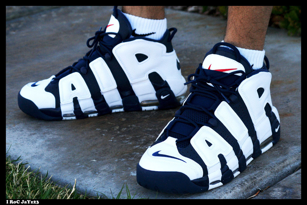 Spotlight: Forum Staff Weekly WDYWT? - 3.14.14 - I RoC JaYz23 wearing Nike Air More Uptempo Olympic