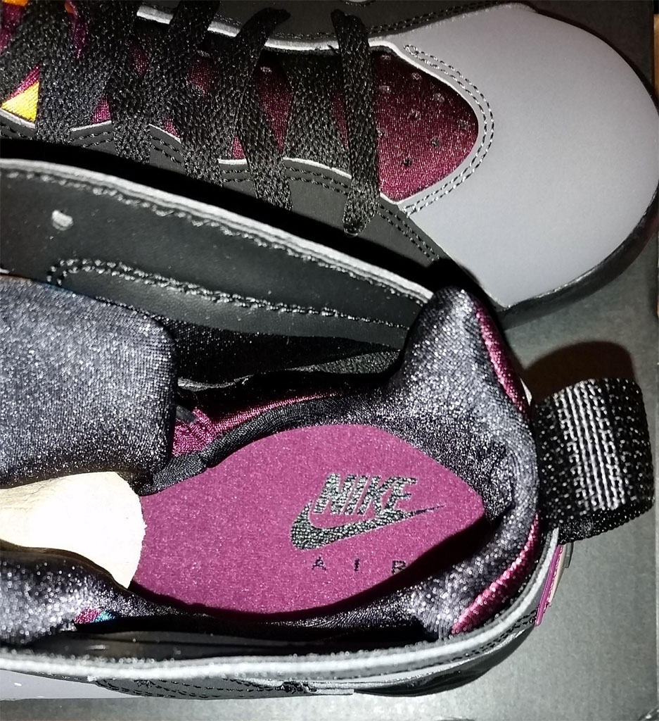 e17b3833c45 Nike Air' Returns on the 'Bordeaux' Jordan 7s | Sole Collector