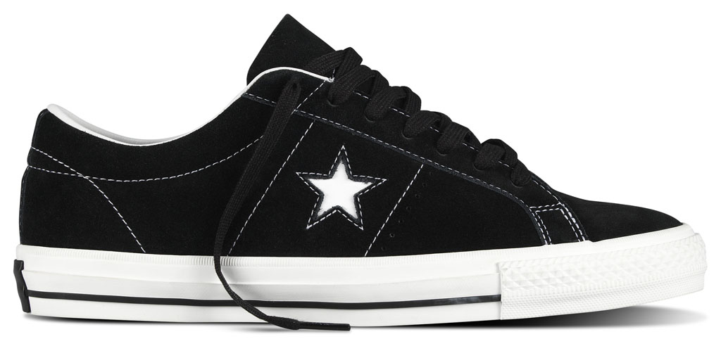 Converse Cons One Star Pro Vintage Suede Release Date Black