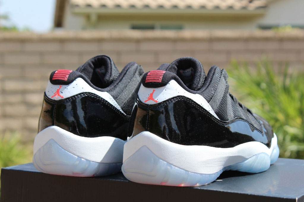 Air Jordan XI 11 Low Infrared 23 528895-023 (6)