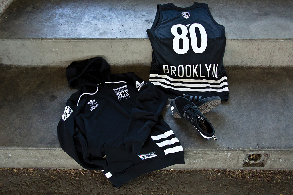 reputable site a41bd de84a The Hundreds and adidas Skateboarding Take On The NBA  Sole