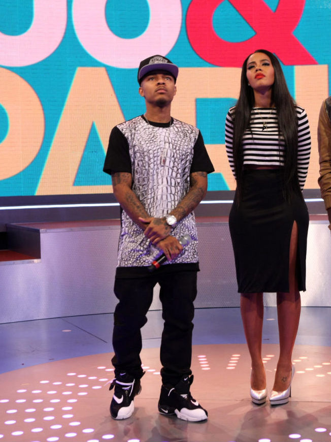 Bow Wow Wearing Nike Air Zoom Flight The Glove (1)