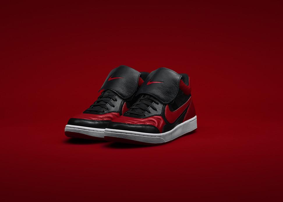 Marco Materazzi x Nike Tiempo 94 Air Jordan in Black Red
