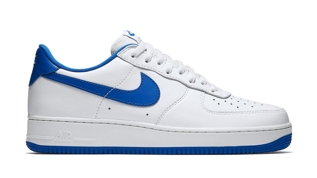 nike air force 1 low game royal nike sole collector. Black Bedroom Furniture Sets. Home Design Ideas