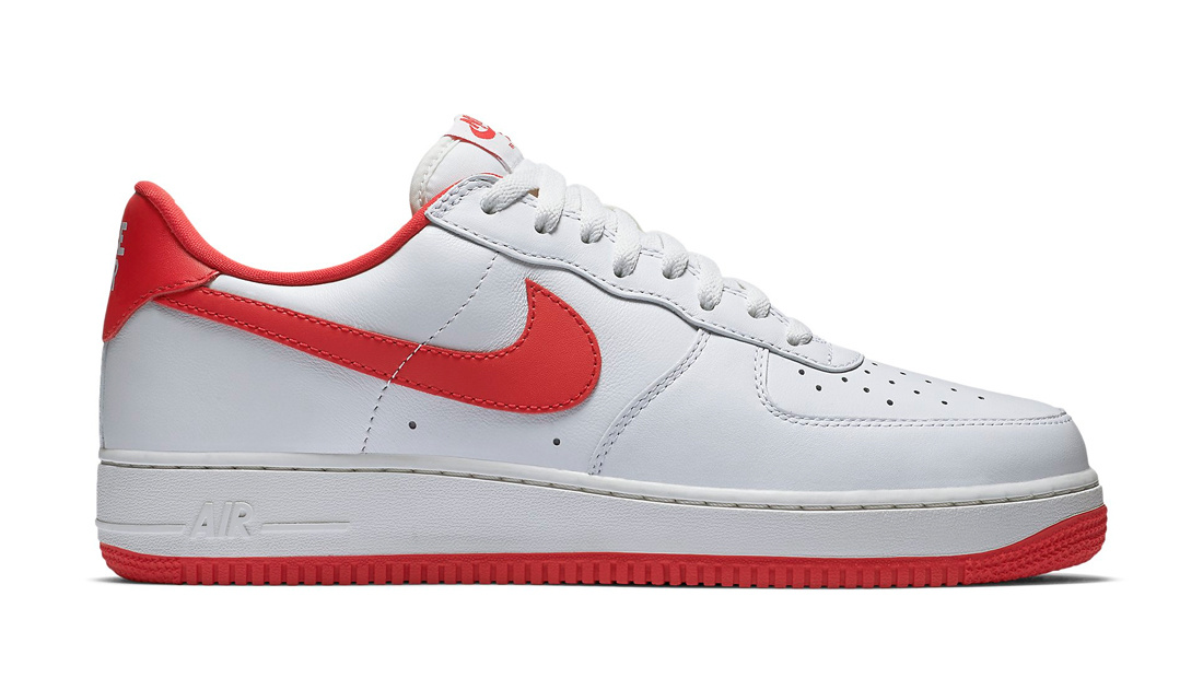 Nike Air Force 1 Low University Red Sole Collector Release Date Roundup
