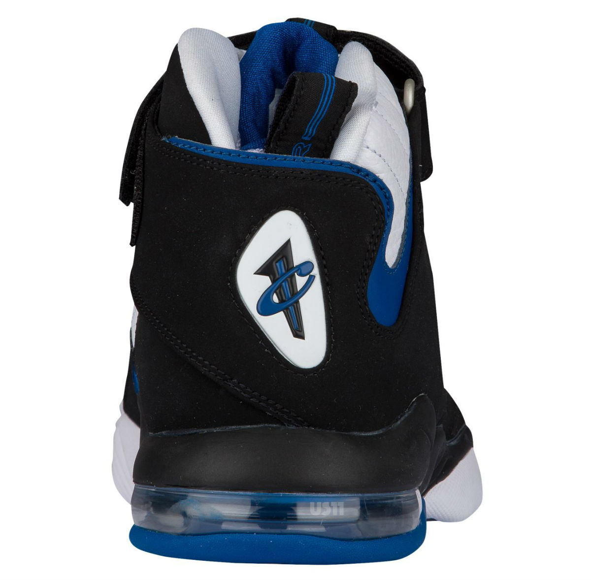 1dd1780f962ca1 Nike Air Penny 4 2017 White Black Blue Orlando Heel
