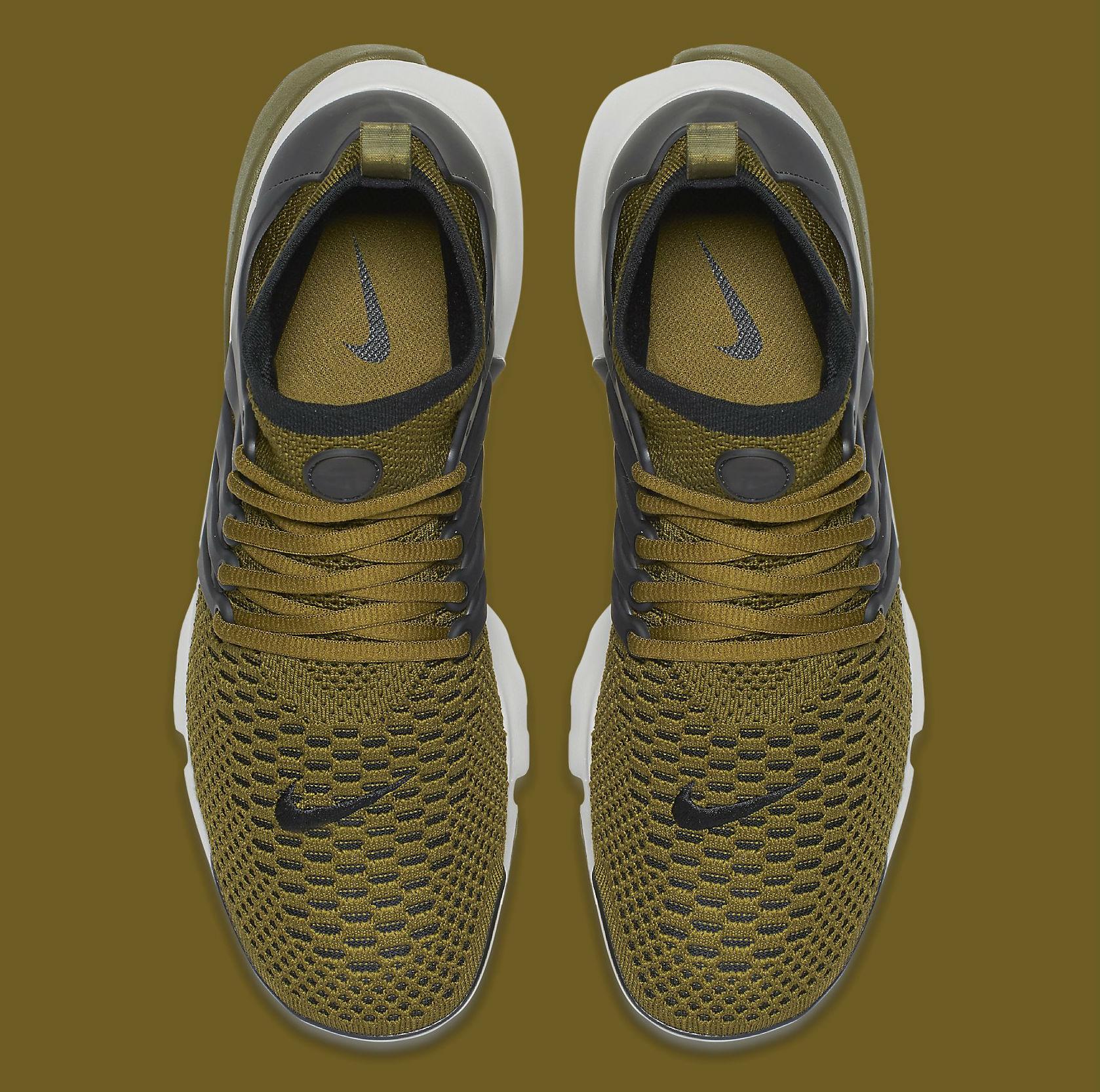 Nike Air Presto Ultra Flyknit Olive Flak Top 835570-300
