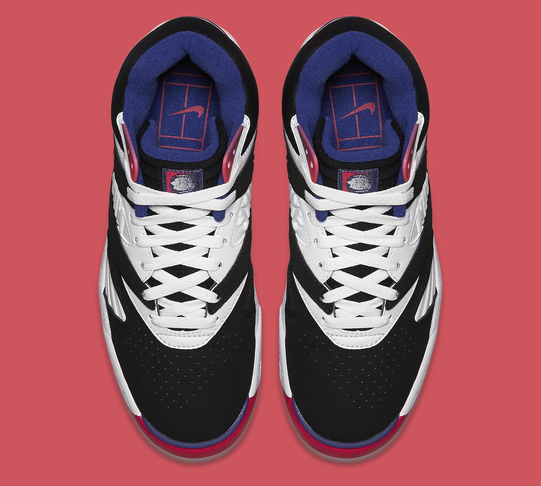 Nike Air Tech Challenge 4 Black White Grape Mandarin Top