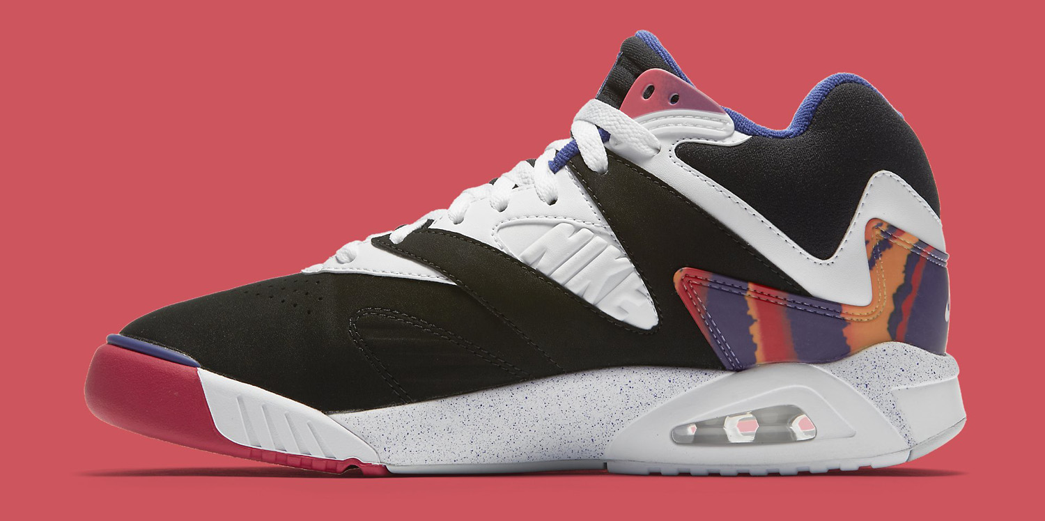 nike air tech challenge 4 black white grape mandarin sole collector. Black Bedroom Furniture Sets. Home Design Ideas
