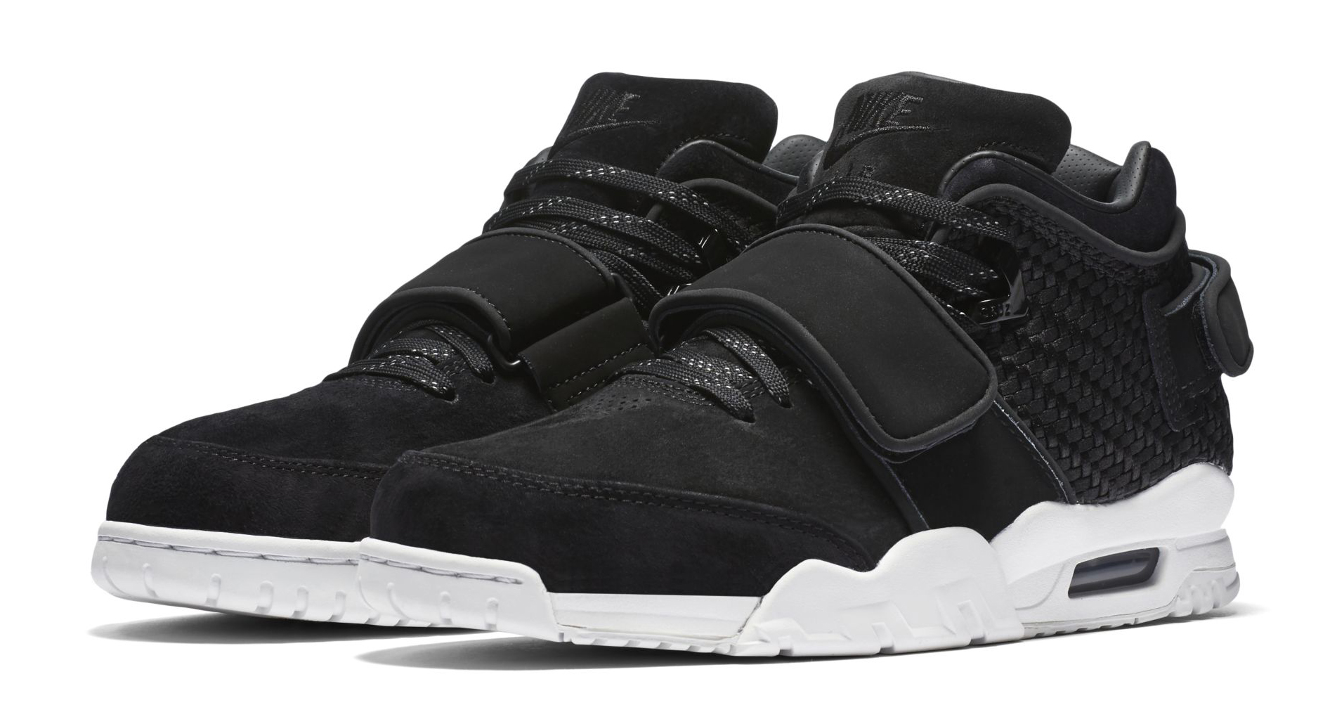 nike air trainer victor cruz black white sole collector. Black Bedroom Furniture Sets. Home Design Ideas