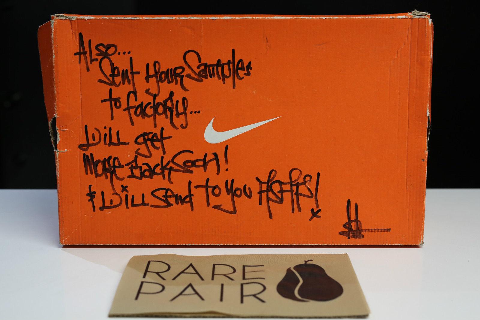 1e0a353a1d5a0 Nike Air Yeezy Kanye West Black White Sample Pair Box