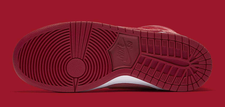 Nike SB Dunk Red Velvet 313171-661 Sole