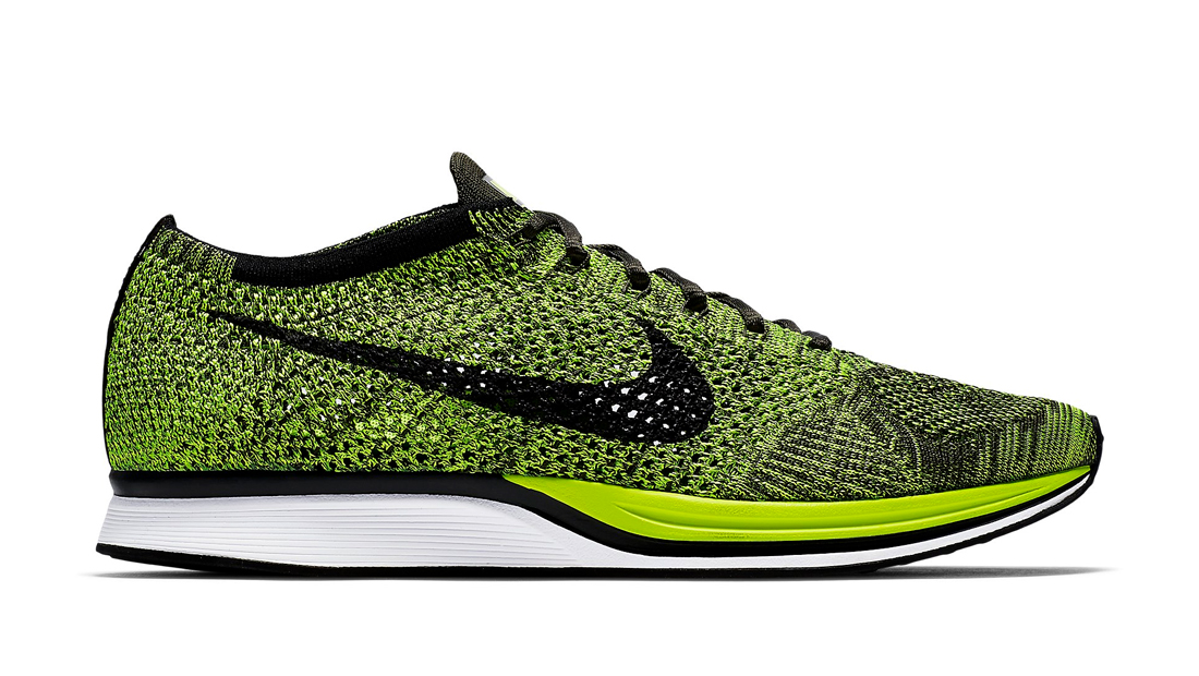 88374b65211b nike flyknit runner yellow kd shoes