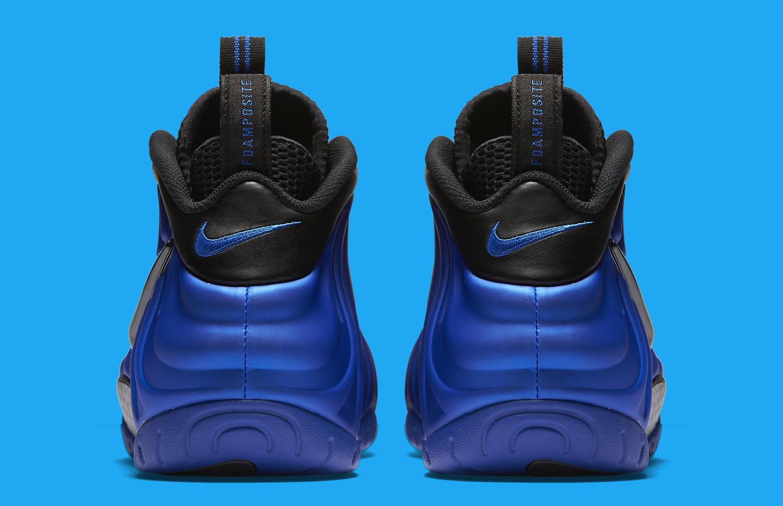 Nike Foamposite Pro Hyper Cobalt Heel