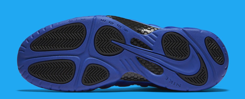 Nike Foamposite Pro Hyper Cobalt Sole