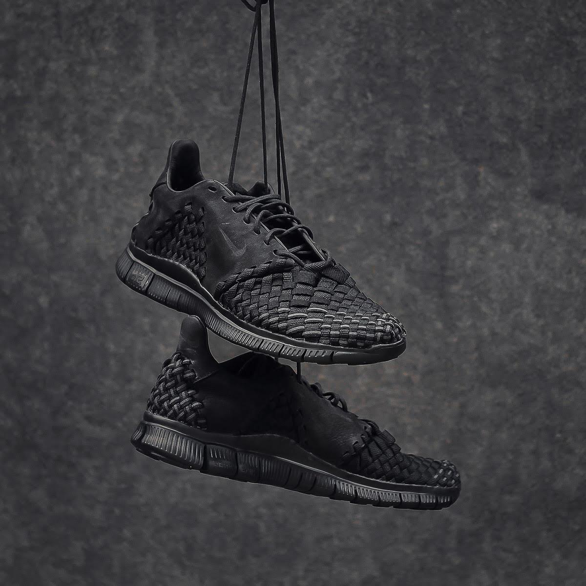Nike Free Inneva Woven 2 Blackout On-Foot Hanging 845014-001