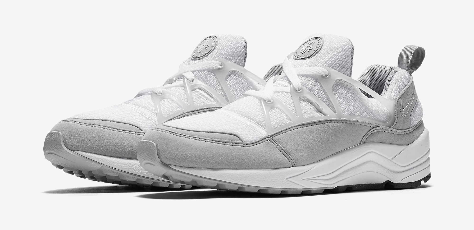 half off b6c84 ac08d Nike Air Huarache Light White Grey | Sole Collector