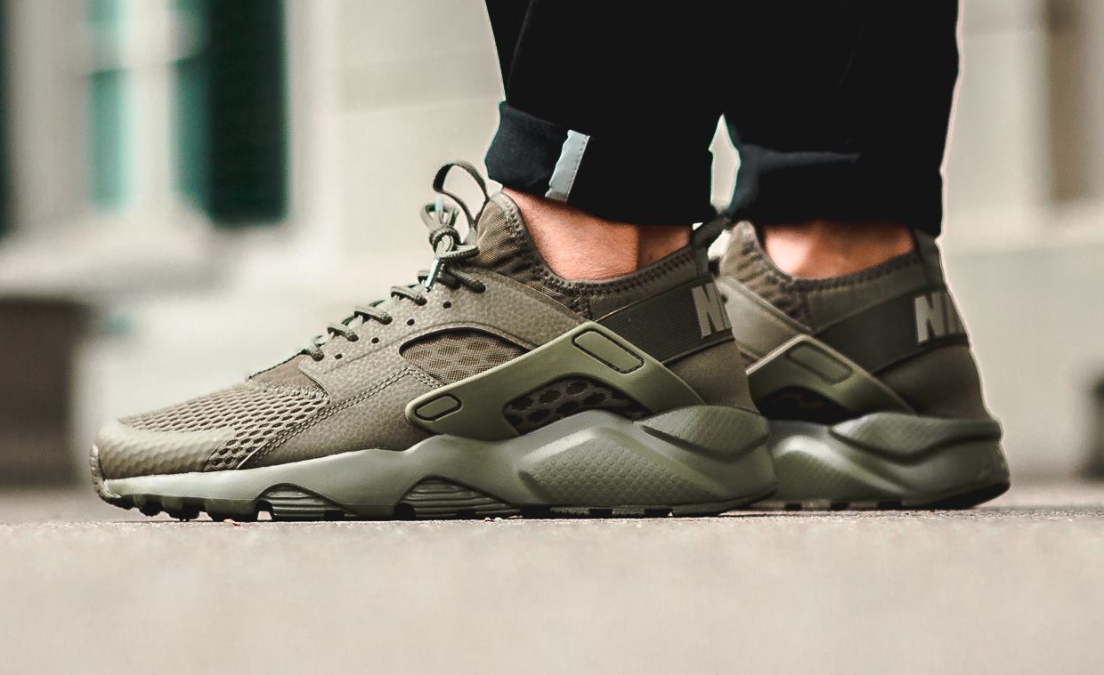 olive nike air huarache ultra sole collector. Black Bedroom Furniture Sets. Home Design Ideas