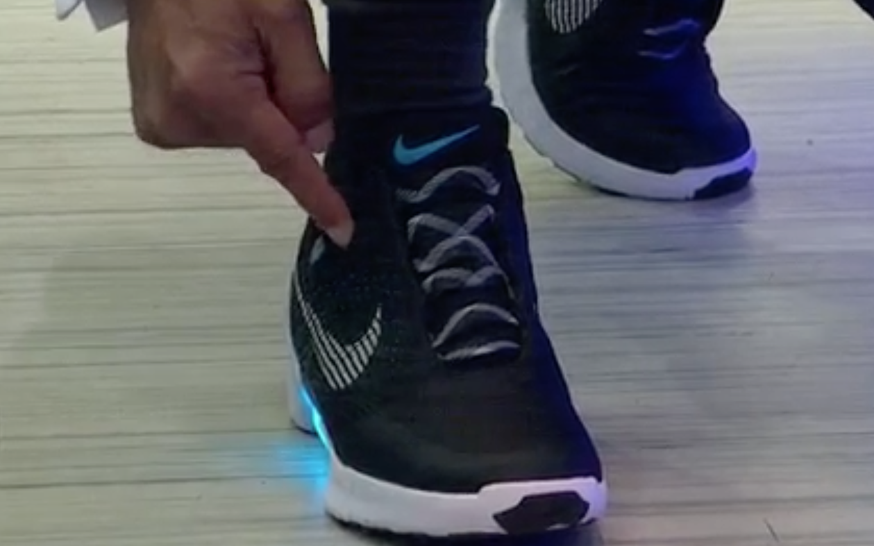Nike Air Max Self Lacing Shoes