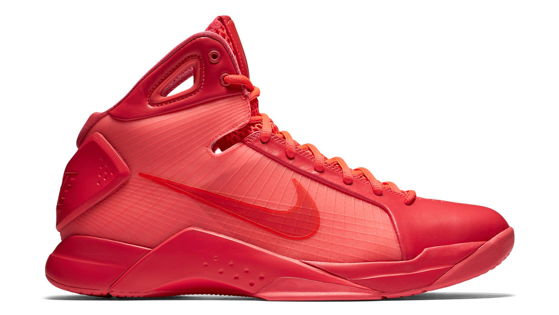 Nike Hyperdunk 08 Triple Red Solar