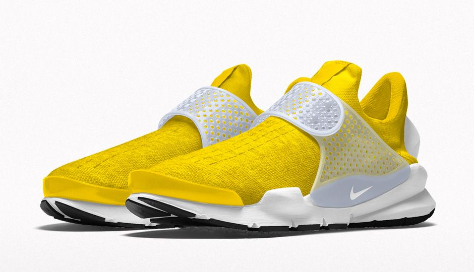 the latest ab5d8 025d7 Nike iD Sock Dart New Options Yellow Heather