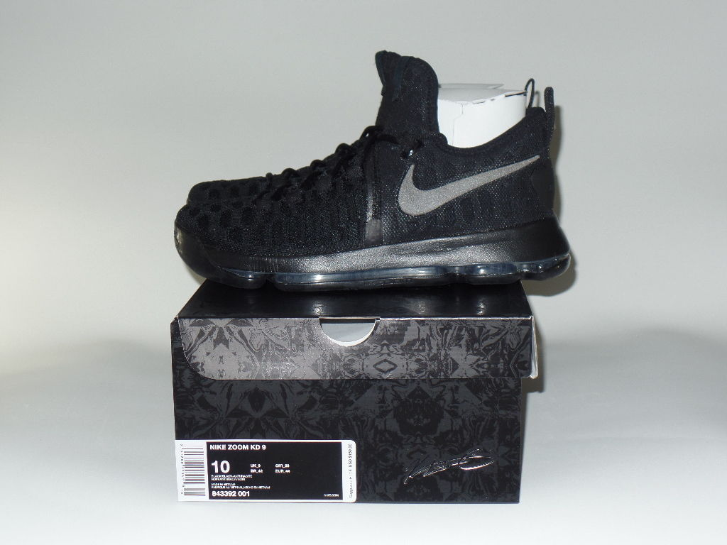 306ab5fed3f5 discount code for check out these on feet images of the black white nike kd  9 1fcc3 f6d34  canada nike kd 9 black space left 843392 001 aebd9 cd5a3