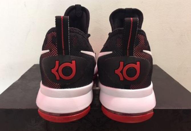 47013d45aaee Nike KD 9 Red Black White 843392-610 Heel