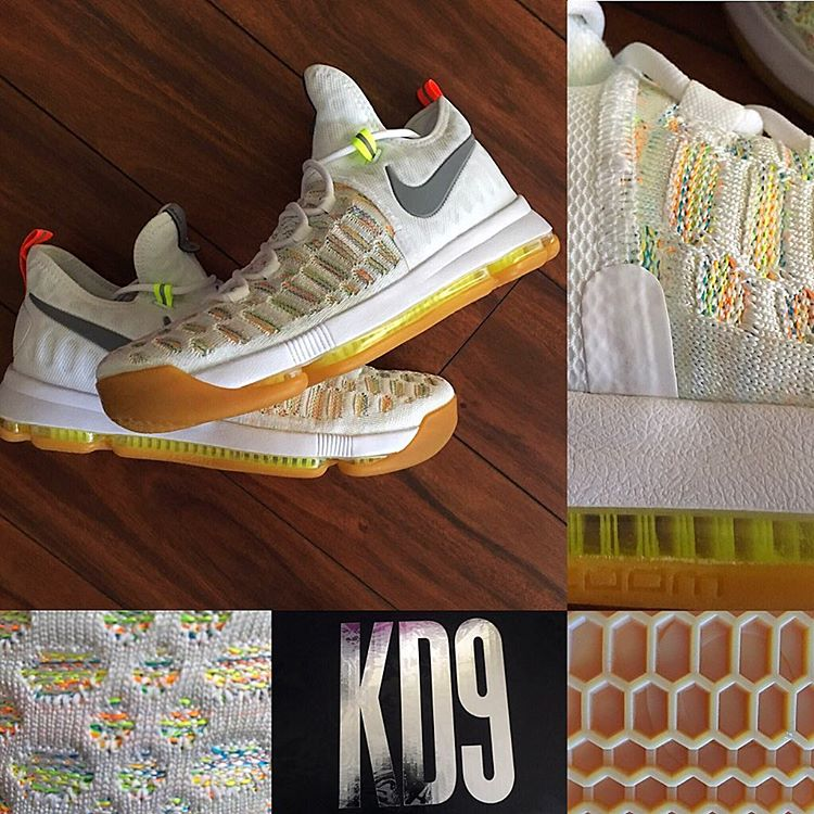 huge discount 5781d 0b7ad ... real multicolor nike kd 9 843392 900 690b7 a8ae3