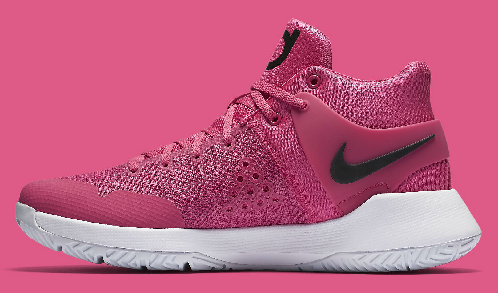 fb154b95c293 Nike KD Trey 5 IV Think Pink Breast Cancer Kay Yow Medial 844573-606