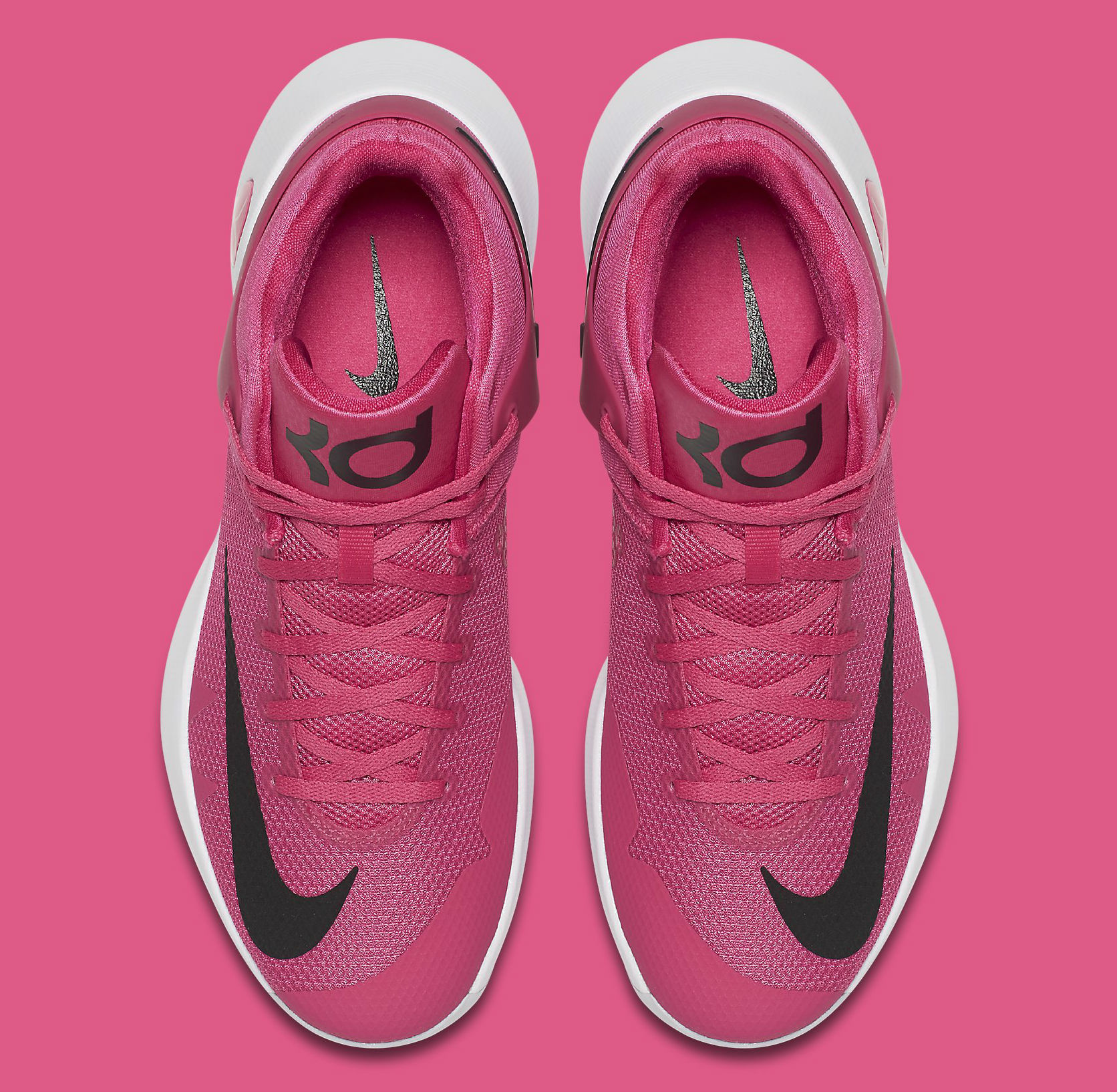 1f18ba82fe0d Nike KD Trey 5 IV Think Pink Breast Cancer Kay Yow Top 844573-606