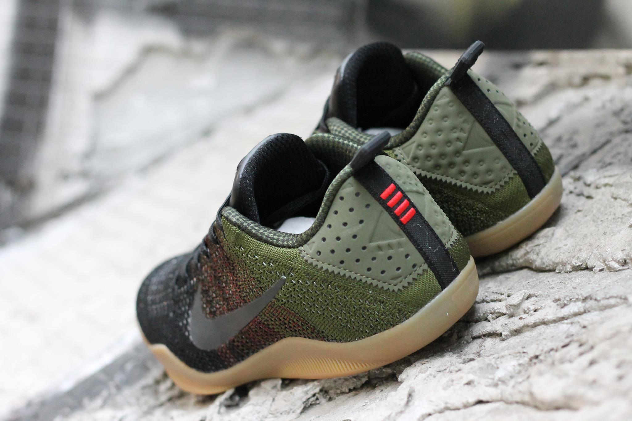 Nike Kobe 11 4KB Green Gum Heel 25caa2908a7f
