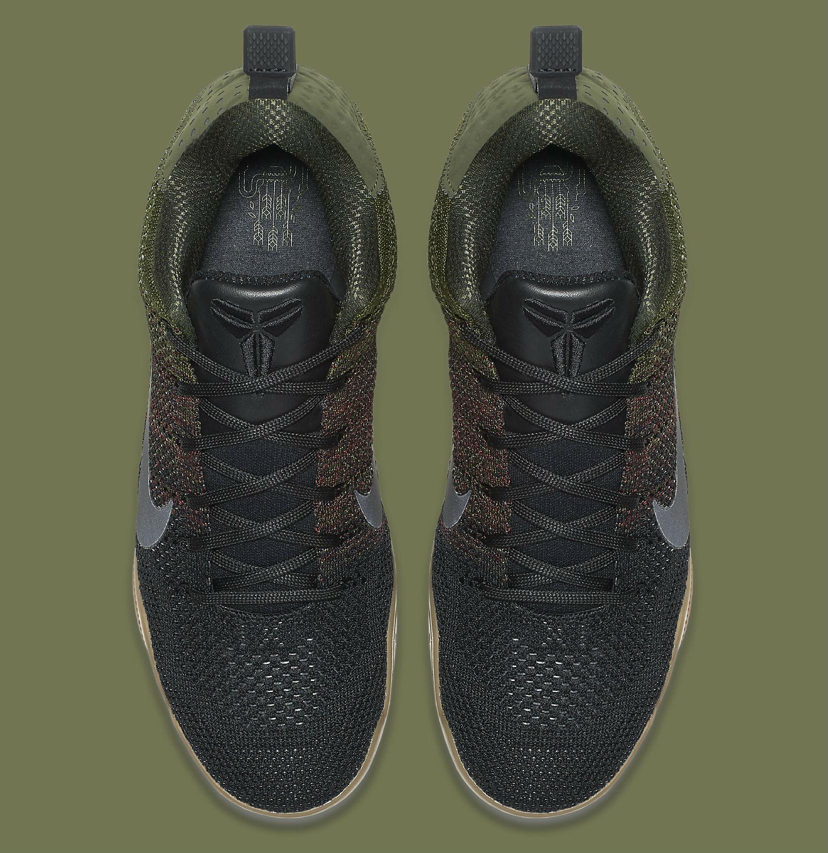 Nike Kobe 11 Elite Low Black Horse Top 824463-063 6917755885a4