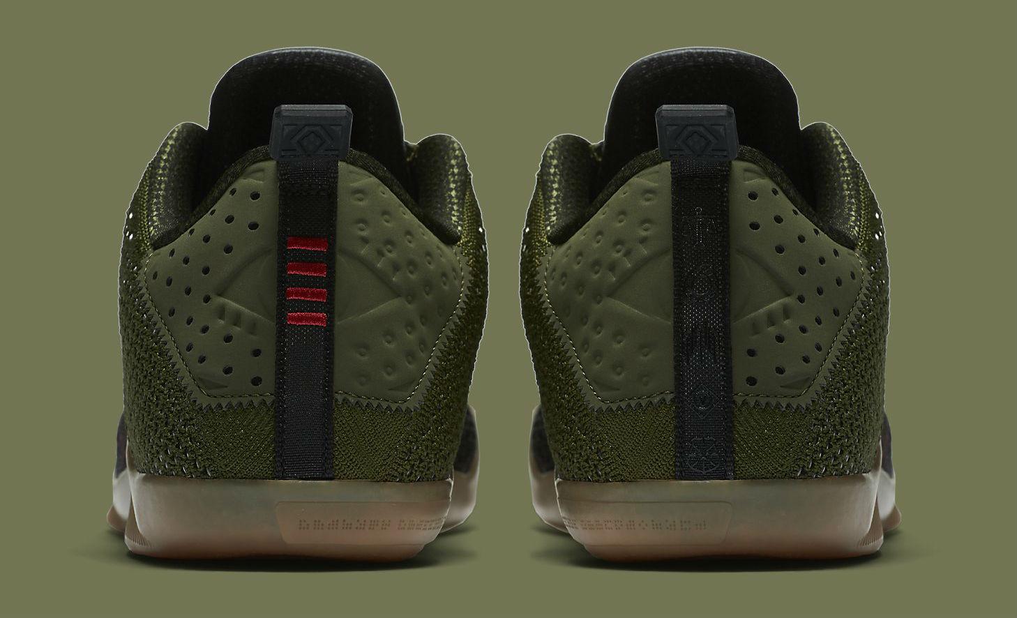 new concept 9adc4 506ae 824463 063 Nike Kobe 11 Elite Low Black Horse Heel 824463-063 Nike Kobe XI  ...