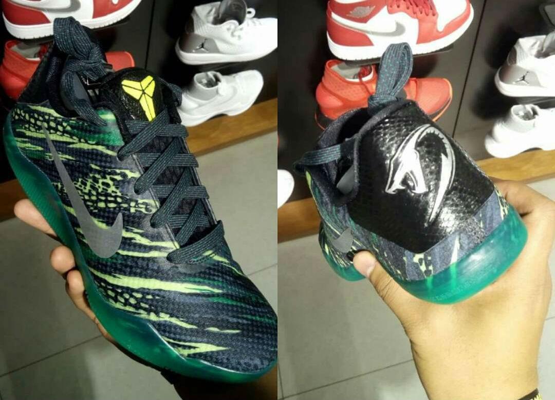 Green Snake Nike Kobe 11 GS