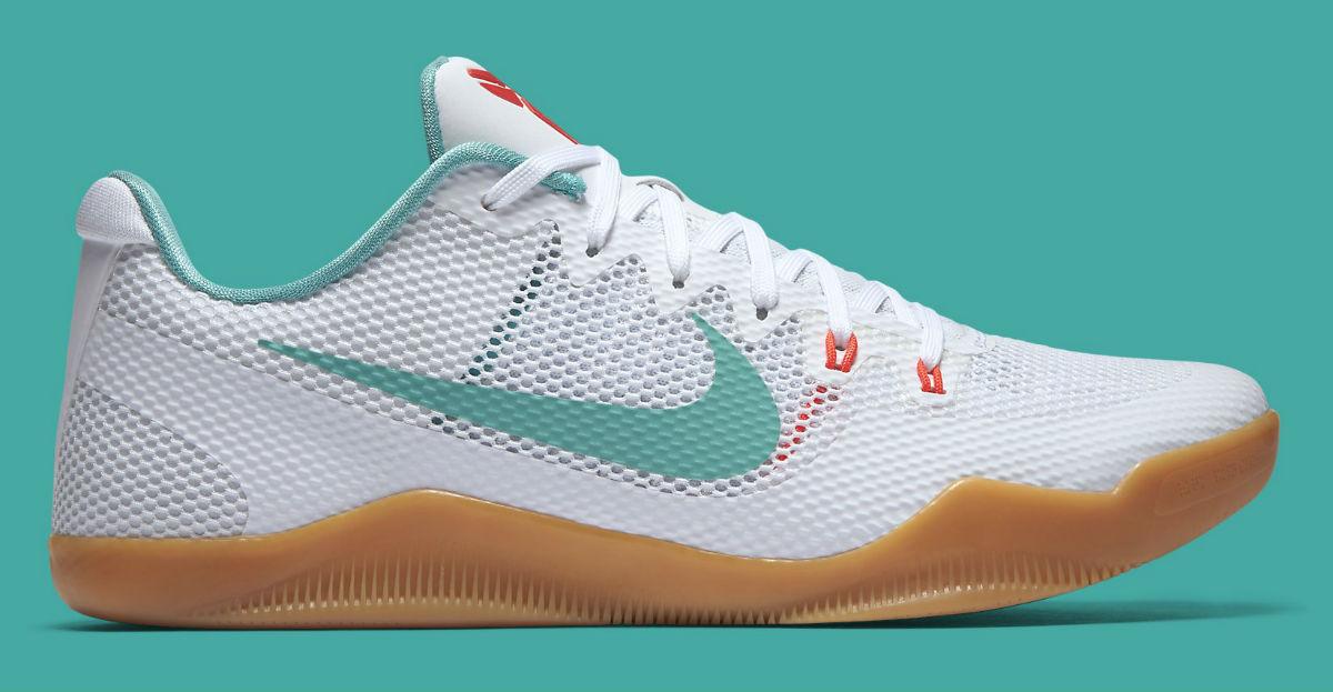 The Nike Kobe 11 Elite Low Ghost Of Christmas Past Debuts On